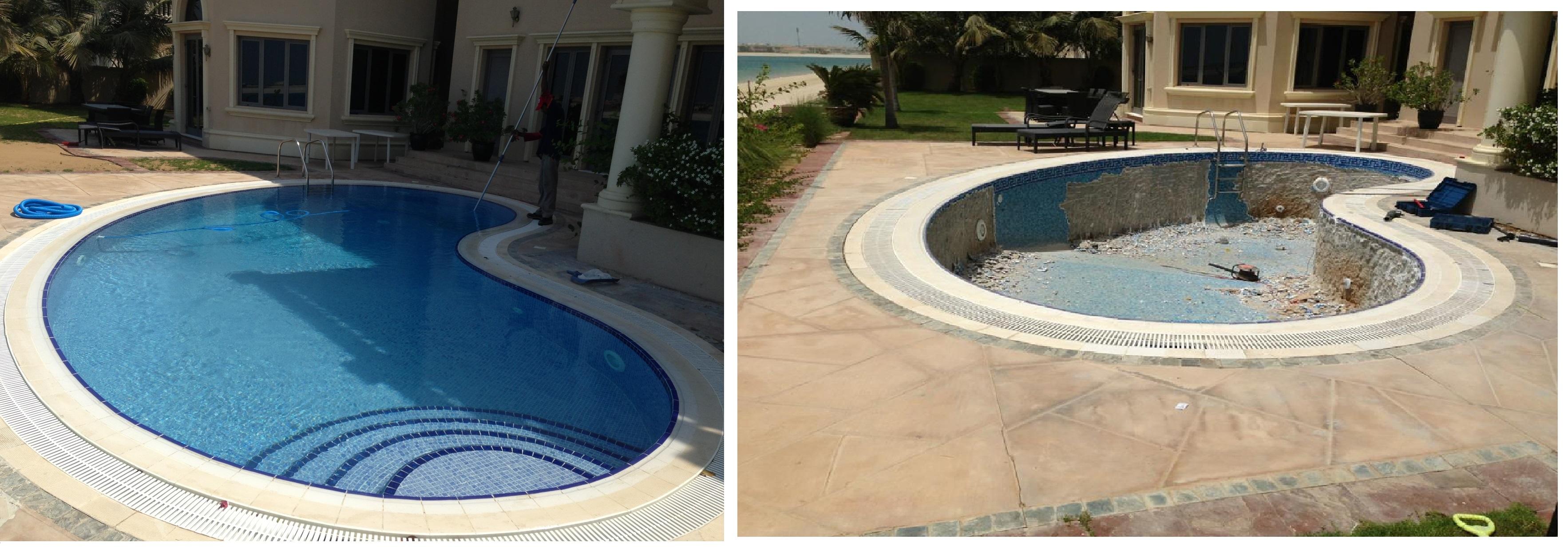 Swimming Pool Cleaning Maintenance Dubai